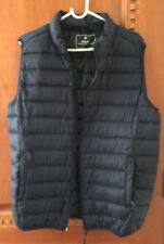 Men's Primark Ultra Lightweight Packable Vest Sz XL Navy