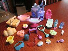 25 Piece Lot LITTLEST PET SHOP Accessories Treats, Food, Toys, Bags & More LPS