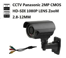 CCTV Panasonic 2MP HD-SDI 1080P Full Zoom Lens 2.8-12mm Outdoor SDI IR Camera