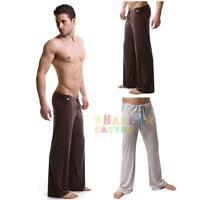 Men's Loose Yoga Pants Sports Home Casual Trousers Lounge Pantalons Trunks