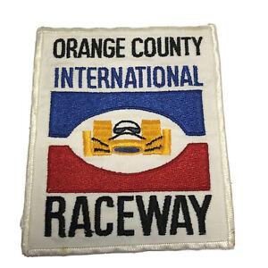 Vintage OCIR Orange County International Raceway Patch Indy Car Embroidered