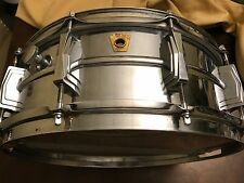 Vintage Ludwig 60's Keystone Badge Supraphonic Snare Drum Serial Number 256896