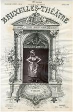 Dupont, Bruxelles-Théâtre, Malvina Ernestine Armand dite Marie Desclauzas (1841-