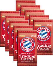 Panini - FC Bayern München Trading Card Kollektion 2017/18 - 10 Booster