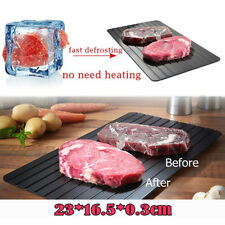 Hoooooot Magic Fast Metal Thawing Plate Defrosting Tray Defrost Meat for Cooking