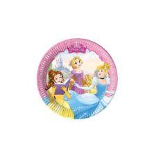 Piatti carta Cm. 20 Principesse - Blister 8 pezzi