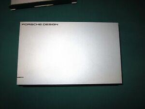 Hard Disk Esterno HD Lacie 3TB Porsche Design USB 3.0 Scatola funzion. 100% [sa.