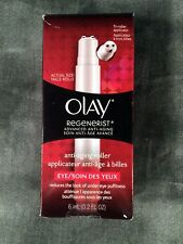 OIL OF OLAY REGENERIST ADVANCED ANTI-AGING UNDER EYE TRI ROLLER 0.2 FL OZ NEW