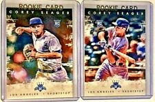 COREY SEAGER 2016 Diamond Kings Base and Variation #142 RC Los Angeles Dodgers