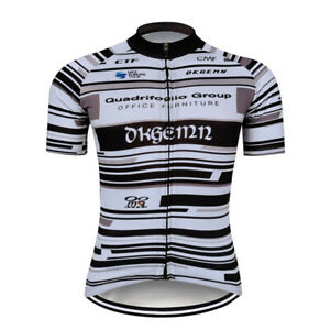 2021 Team Mens Cycling Jersey Short Sleeve Bike Riding Shirt Clothing Breathable