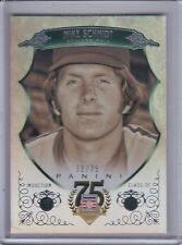 MIKE SCHMIDT 2014 Panini Hall of Fame Green Frame #33/75 #78 (C5513)