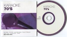 [BEE GEES COVER] FASTFORWARD MUSIC ~ KARAOKE 70's ~ 2002 UK 16-TRACK CD ALBUM