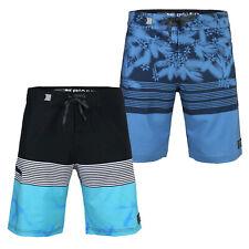 2 Pack Men's Swimwear Board Shorts 32 Size Leisure Boating Swim Trunks Blue