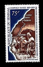 SENEGAL - 1969 - 150° della nascita dell'esploratore Léopold Panet (1819 - 1859)