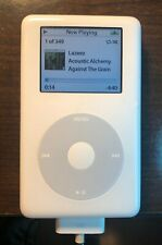 (1)  Apple iPod with Color Display 4th Generation White (20 GB), Model A1099