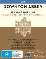 Downton Abbey: Seasons 1 2 3 4 5 6 Gold Boxset BLU-RAY NEW