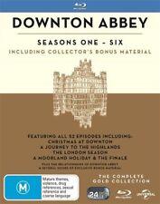 Downton Abbey : Season 1-6 (Blu-ray, 2017, 22-Disc Set)