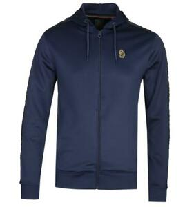 Luke 1977 Trico Zip Hooded Sweatshirt - Navy