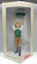 """Schuco Piccolo Figur /""""Junge mit VW Bus rot-weiß/""""  # 50185003"""