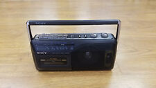 *Used* Sony Radio Cassette-Corder Player Am/Fm/Tv Band Cfm-145Tv *Used*