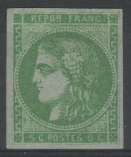 "FRANCE STAMP TIMBRE 42 Bh "" CERES BORDEAUX 5c VERT "" NEUF x TB  M931"