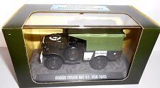 DIE cast 1:43 dodge truck WC 51, usa 1945 Forces spéciales Atlas 7123106 (A)