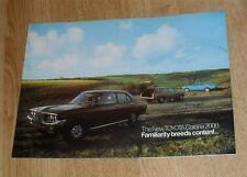 Toyota Corona 2000 Mk2 De Luxe Saloon & Estate Brochure C.1972