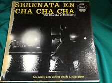 OJ Cuban Press  LP : Julio Gutierrez ~ Serenata En Cha Cha Cha ~ Panart 3016