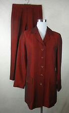 Leinene Zweiteilige Damen-Anzüge & -Kombinationen mit Jacket/Blazer für Business