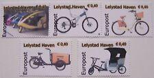 Stadspost Lelystad Haven 2012 - Strip 3 zegels + 1 + 1 Fietsen, Bicycle