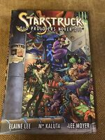 STARSTRUCK OLD PROLDIERS NEVER DIE SIGNED BY LEE KALUTA MOYER. RARE LTD 407/1000