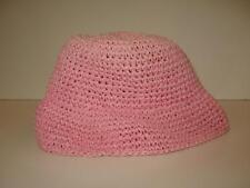 Oshkosh B Gosh Crochet Hat Pink Baby Hat 100% Paper Style 0137 19023