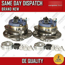 2x VAUXHALL ASTRA G,ZAFIRA A FRONT WHEEL BEARING 5 STUD+HUB PAIR W/ABS 98-05