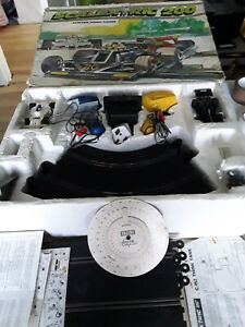 Rare Vintage scalextric 200 set electric MODEL racing boxed