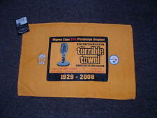 MYRON COPES OFFICIAL TERRIBLE TOWEL MYRON COPE EDITION GOLD PITTSBURGH STEELERS