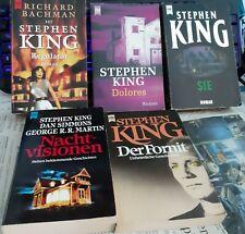 5 Taschenbücher von STEPHEN KING:  Sie, DOLORES, Nachtvisionen, REGULATOR