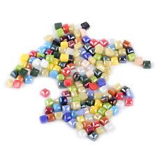 """50g 3/8"""" Mini Vitreous Glass Mosaic Tiles Wall Crafts Various Mixture Optic Drop"""