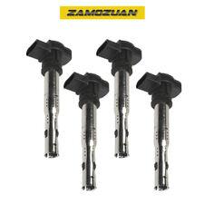 OEM Quality Ignition Coil 4PCS for Audi A3 A4 A5 A6 Q3 Q5/ VW Beetle Golf Jetta
