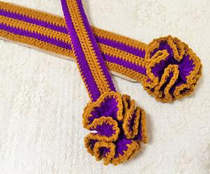 "NEW 15 Colors Crochet Bag Handle Cover Single Flower 10"" LV SPEEDY ALMA Japan"