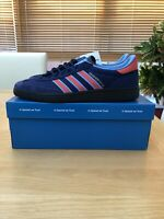 Adidas Manchester 89 Blue Spzl Uk10.5 Dark Blue Ready To Ship!