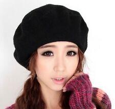 New Fashion Wool Warm Winter Hat Women Lady French Beret Beanie Hat Painter Cap
