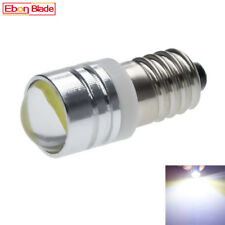 1Pcs E10 1447 COB White LED Light Bulbs Replacement Flashlight Torches 3V DC