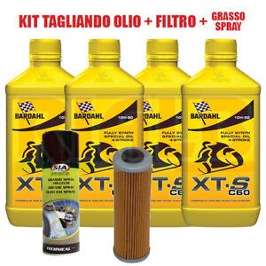 Kit Tagliando Bardahl XTS 10W50 + Filtro Olio 650 KTM 1190 Adventure + Omaggio