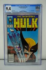 MARVEL COMICS CGC 9.4 THE INCREDIBLE HULK 340 2/88 WHITE PAGES