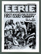 EERIE Magazine #1 B/W 24 pgs Warren 1965 1st PRINT Low Distribution Rare