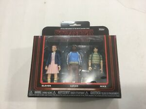Funko Netflix Stranger Things, Eleven, Lucas, Mike action figures, FREE ship