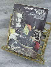 Madame Maigret's Recipes Cookbook HC/DJ Robert J Courtine Drawings 1st Ed 1975