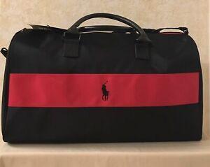 NEW Ralph Lauren Polo Black / Weekend / Gym / Holdall / Duffle / Cabin Bag