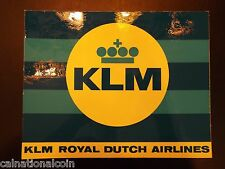 Vintage KLM Royal Dutch Airlines decal