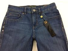 NWT Women's NINE WEST Bootcut Mid Rise Size 4/26 Jeans Actual 29.5x32 New